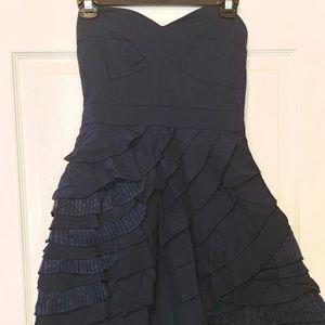 Dresses & Skirts - Charming Navy Strapless dress